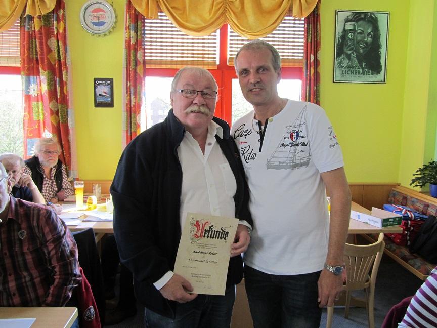Karl-Heinz (Robby) Eckert und Jan Hoffmeister