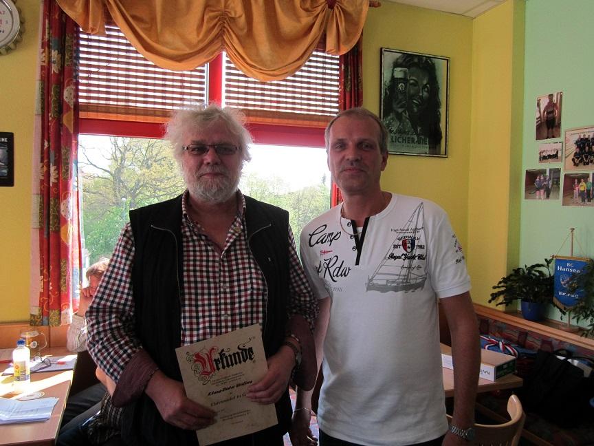 Klaus-Dieter Stoffers und Jan Hoffmeister