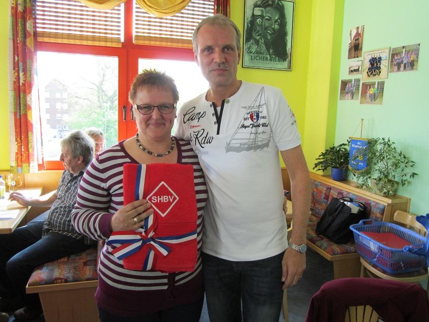 Deutscher Meister 2013 Seniorinnen A:  Rosi Buchert